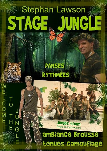 Affiche stage jungle