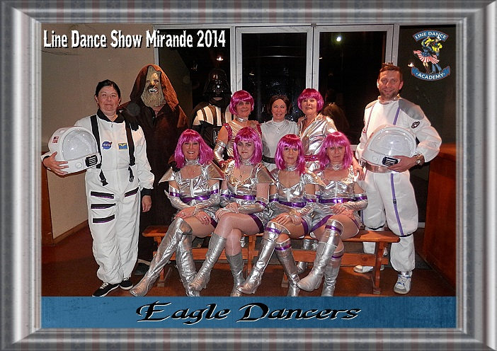 Photo Line Dance Show Mirande